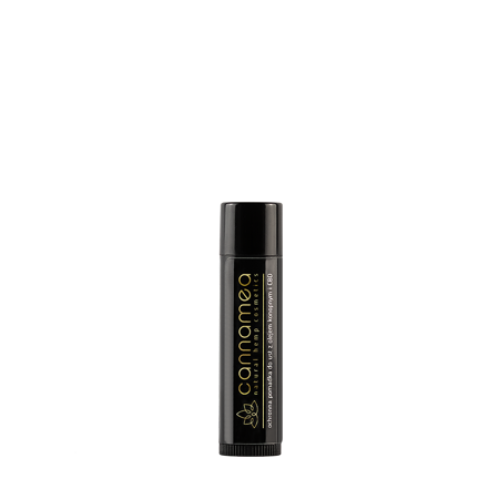 Cannamea - ochronna pomadka do ust z olejem konopnym i 25 mg CBD